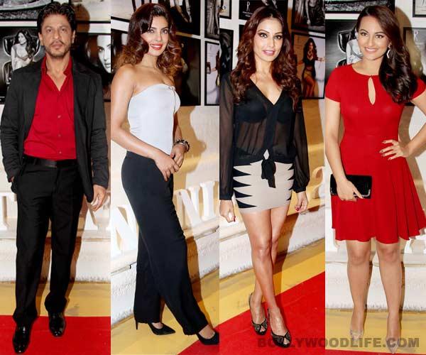Shahrukh Khan, Priyanka Chopra, Sonakhi Sinha at Dabboo Ratnani's 2014 calendar launch