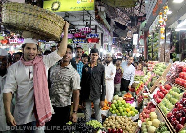Why was Varun Dhawan selling vegetables?