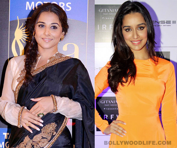 Has Vidya Balan accepted Shraddha Kapoor as her sister-in-law?
