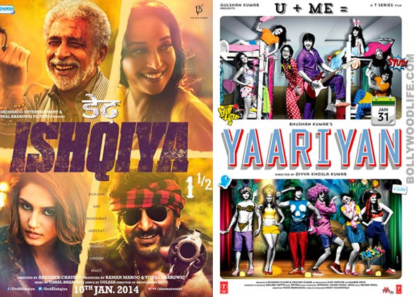Trade buzz: Will Dedh Ishqiya and Yaariyan be the first films to enter the Rs 100 crore club in 2014?