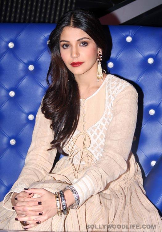 Why is Anushka Sharma nervous?