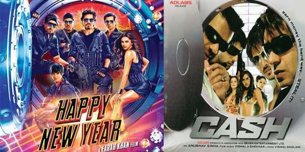 Is Shahrukh Khan copying Ajay Devgn in Happy New Year?