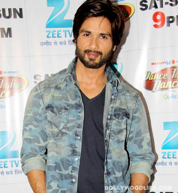 Is Shahid Kapoor nervous about losing his hair?