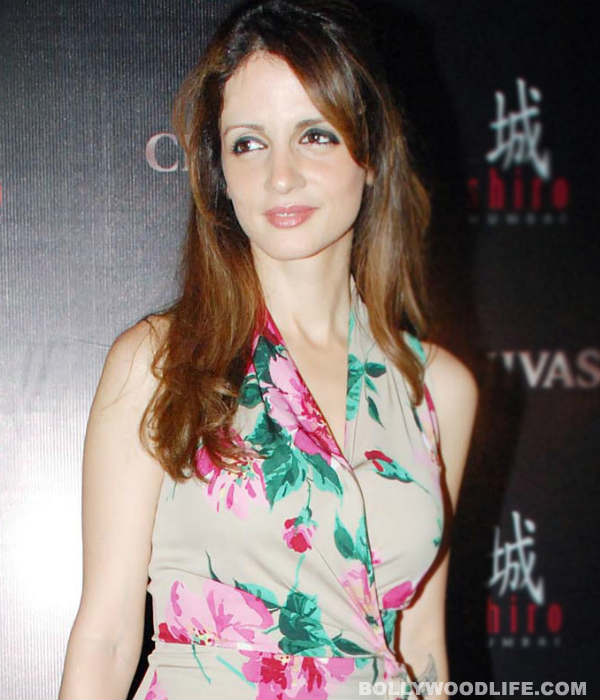 Post separation from Hrithik Roshan, Sussanne finds a new home!