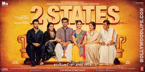 2 States new poster: What did Alia Bhatt and Arjun Kapoor wear for their engagement?