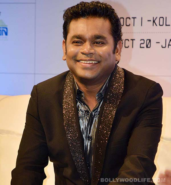 Who stopped AR Rahman's song recording?