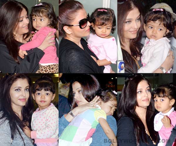 Aishwarya Rai Bachchan's daughter Aaradhya Bachchan turns supermodel for mommy!