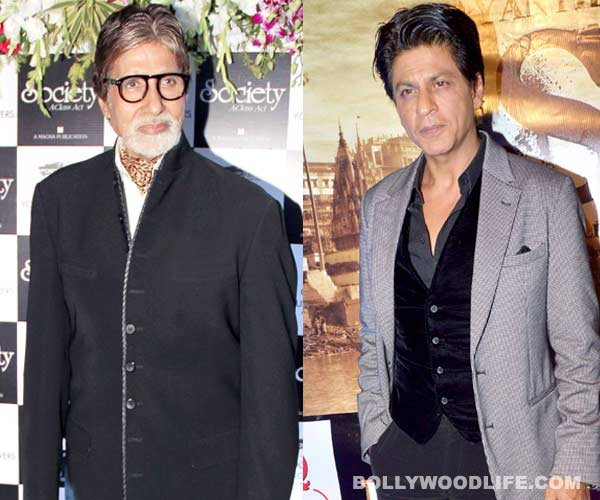 Amitabh Bachchan and Shahrukh Khan to share screen space after 8 years!