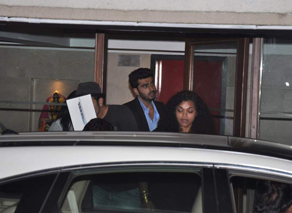 Ranbir Kapoor, Arjun Kapoor celebrate the success of Hasee Toh Phasee with Karan Johar - View pics!