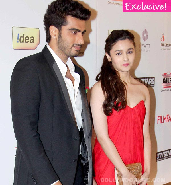 Arjun Kapoor: I am not affected by my link-up with Alia Bhatt!