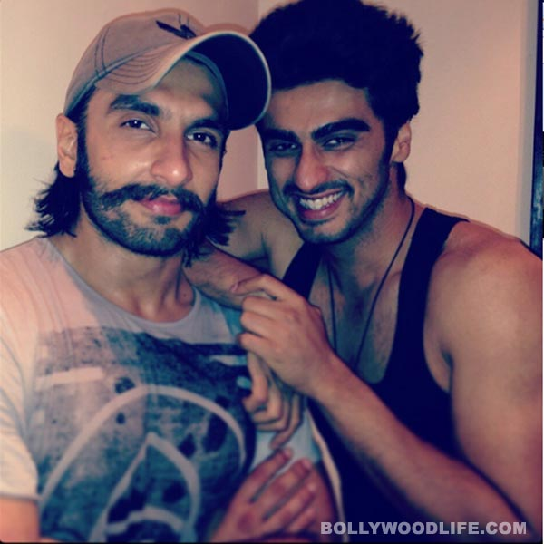 Arjun Kapoor: Ranveer Singh is always ready to hug and kiss you!