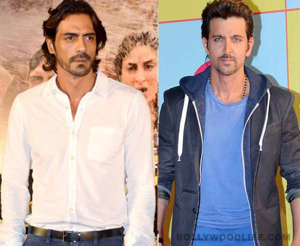 Why is Arjun Rampal upset about beating Hrithik Roshan in a race?