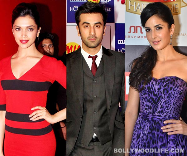 Does Ranbir Kapoor think Deepika Padukone is a better actor than Katrina Kaif?