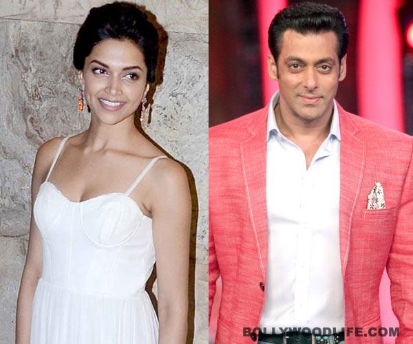 Was Salman Khan lying about wanting to work with Deepika Padukone?