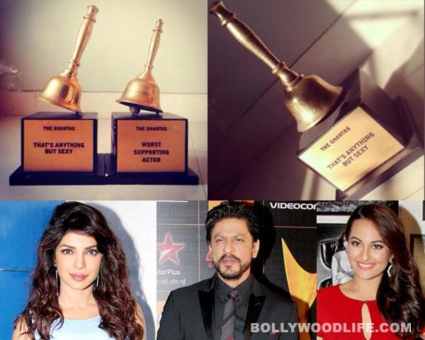 Shahrukh Khan, Sonakshi Sinha and Priyanka Chopra nominated for the Ghanta Awards!