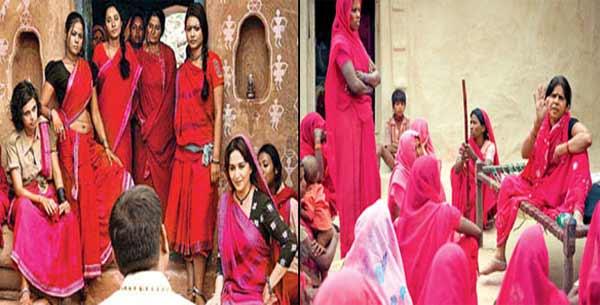 Gulaab Gang vs Gulabi Gang: Madhuri Dixit-Nene and Juhi Chawla's film or the documentary?