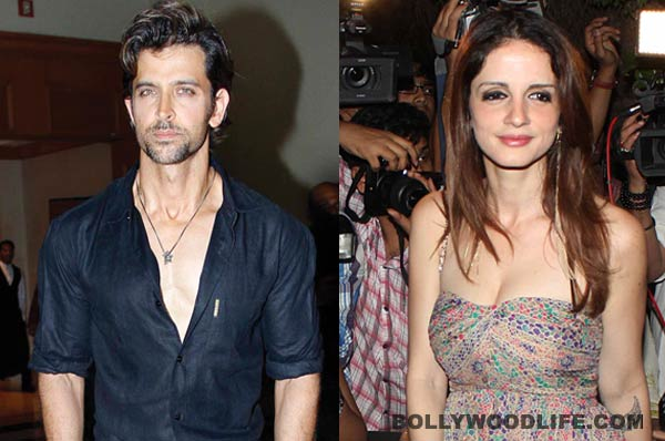 Is Sussanne Khan's separation from Hrithik Roshan affecting her work?
