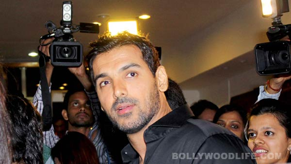 When John Abraham went back to college...