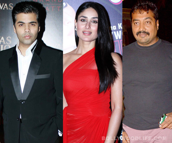 Has Anurag Kashyap replaced Karan Johar as Kareena Kapoor's new best friend in Bollywood?