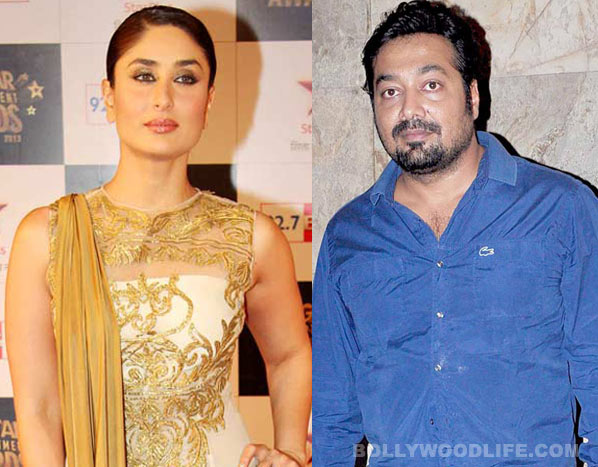 What is Anurag Kashyap's advice to Kareena Kapoor Khan?