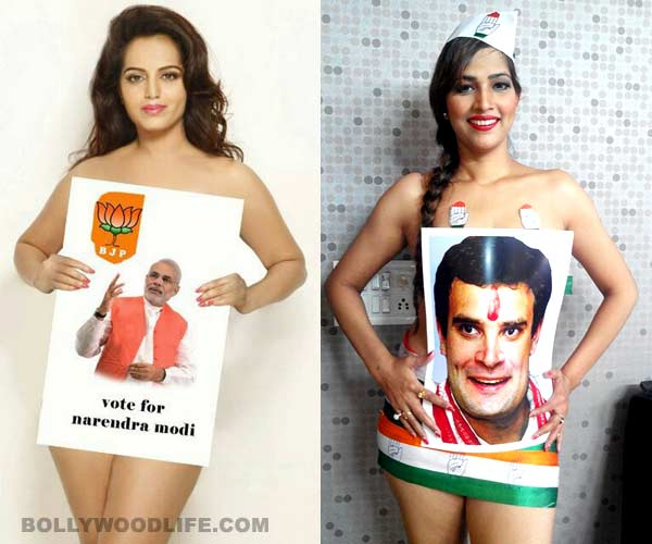 Are Rahul Gandhi and Narendra Modi being used by small time models?