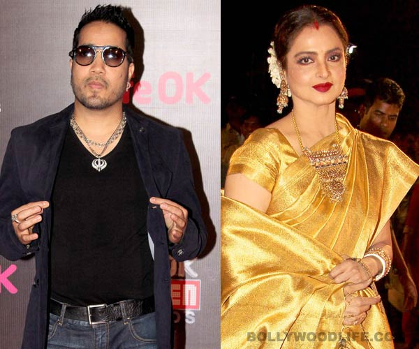 What did Mika Singh gift Rekha?