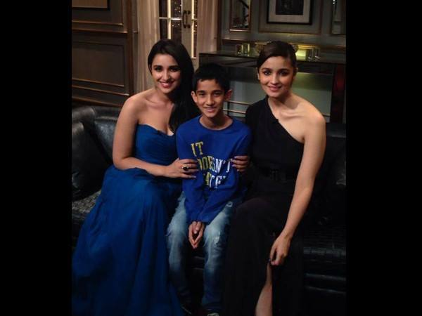 Parineeti Chopra: Alia Bhatt and I went on Koffee with Karan 4 together to prove that we are friends!