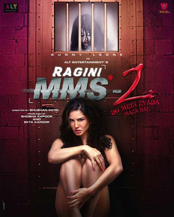 Sunny Leone poses nude for Ragini MMS 2 poster!