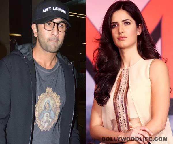 How did Ranbir Kapoor and Katrina Kaif celebrate Valentine's Day?