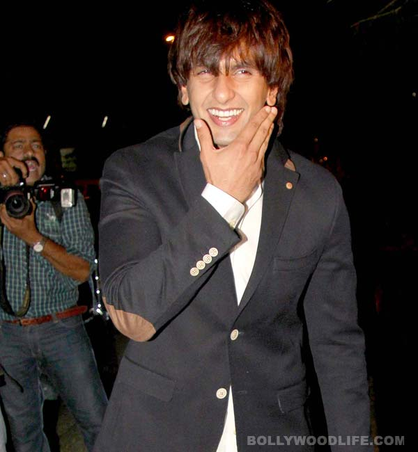 Apart from Deepika Padukone who makes the bold Ranveer Singh shy?