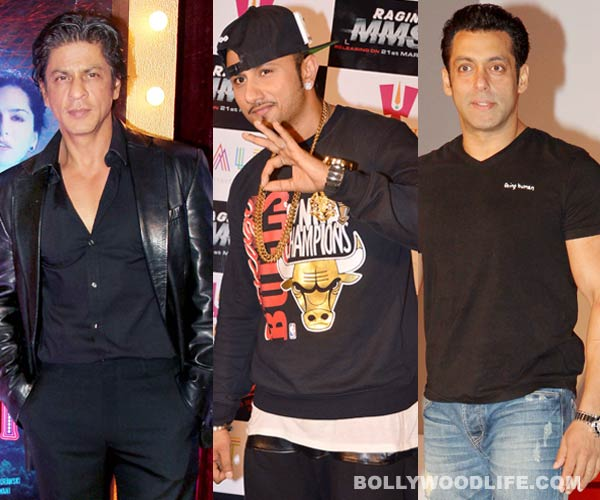 Has Yo Yo Honey Singh shifted loyalties from Shahrukh Khan to Salman Khan?