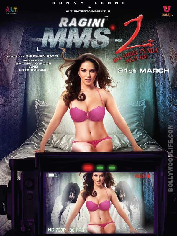 Is Sunny Leone possessed? See Ragini MMS 2 poster!