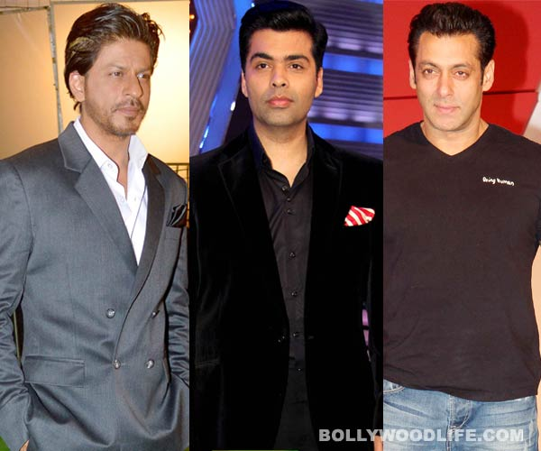 Is Shahrukh Khan angry with Karan Johar because of Salman Khan?