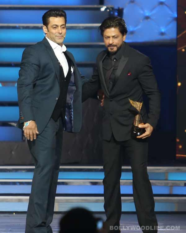 Are Salman Khan and Shahrukh Khan back to being friends?