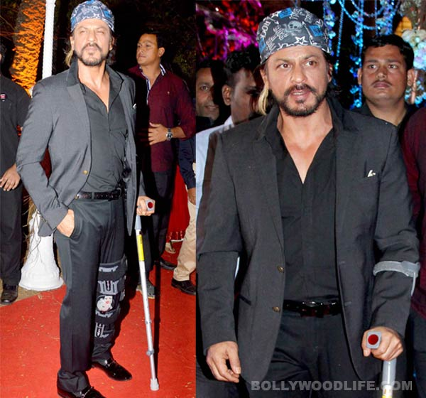 Will Shahrukh Khan cancel his Temptation Reloaded tour due to his injury?
