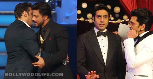 Abhishek Bachchan, Riteish Deshmukh poke fun at Shahrukh Khan and Salman Khan!