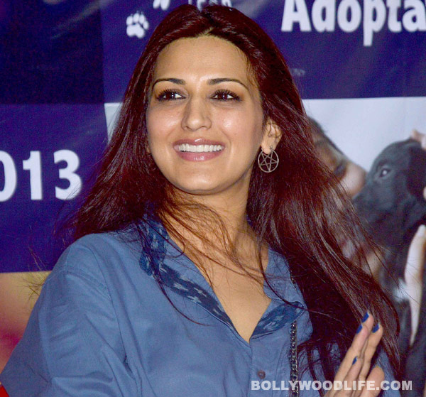 What is Sonali Bendre's new found love?