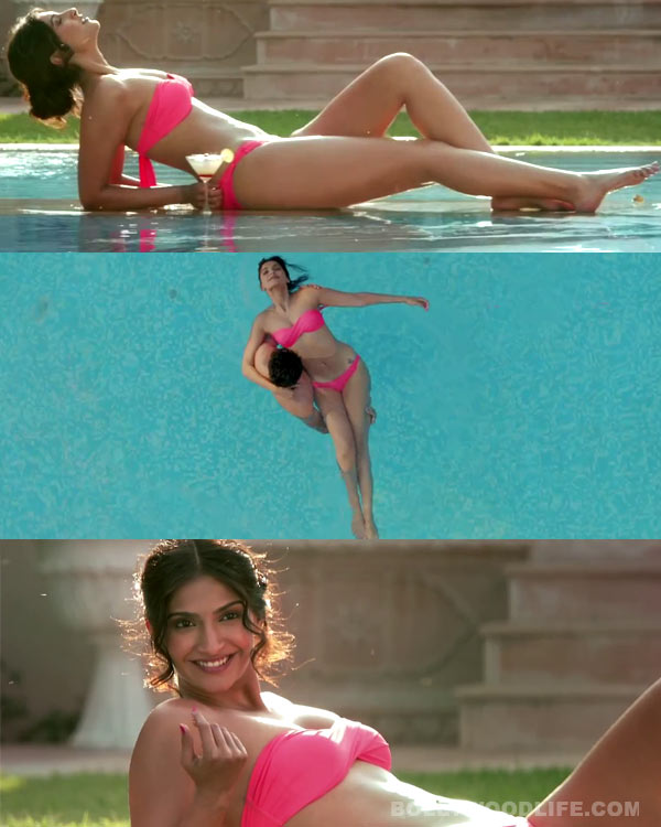 Sonam Kapoor happy with response to her bikini avatar in Bewakoofiyaan!