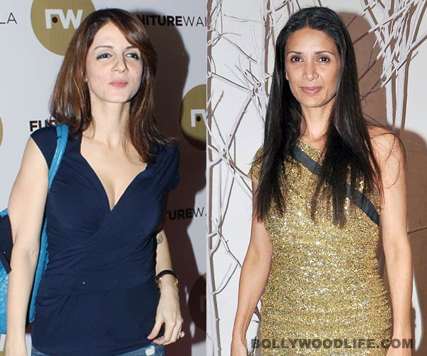 Sussanne and Mehr Rampal bond over an animated dinner