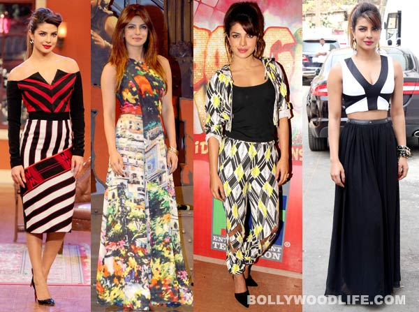 What is Priyanka Chopra's style mantra for Gunday promotions?