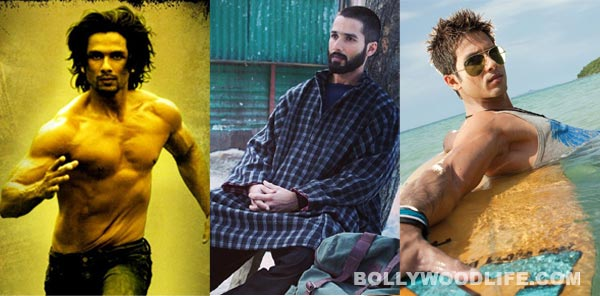 Shahid Kapoor's transformation: From long locks to almost bald!