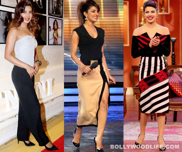 Does Priyanka Chopra have a shoe fetish? View pics!