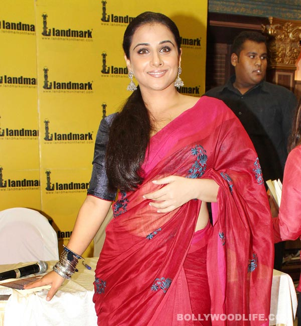Is Vidya Balan happily married?