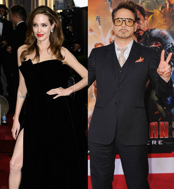 Angelina Jolie and Robert Downey Jr are Hollywood's top-earning actors in 2013!