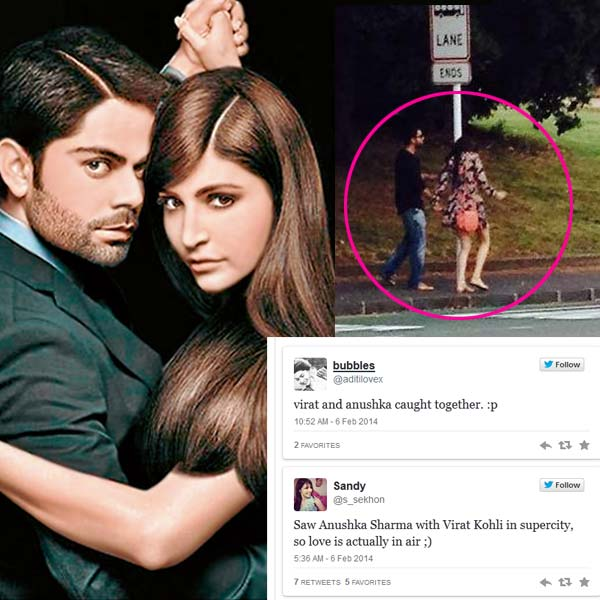 Is Anushka Sharma lying about her relationship with Virat Kohli? View pic!
