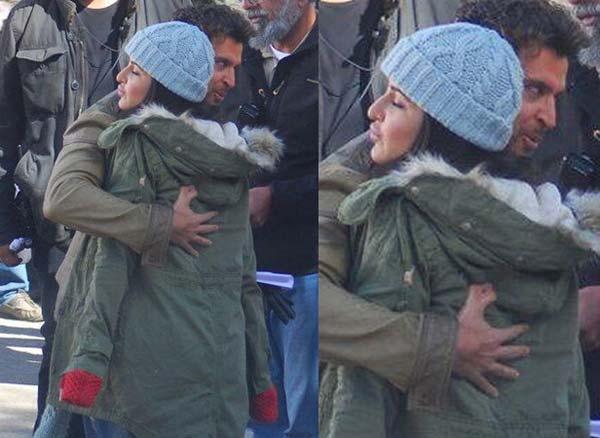 Katrina Kaif and Hrithik Roshan spotted in Shimla - View pics!