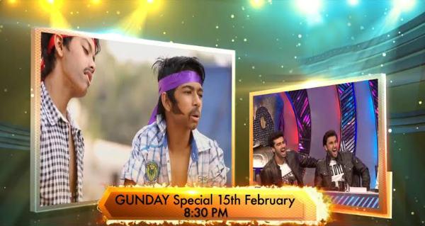 Ranveer Singh and Arjun Kapoor romance a pink cow! Watch video!