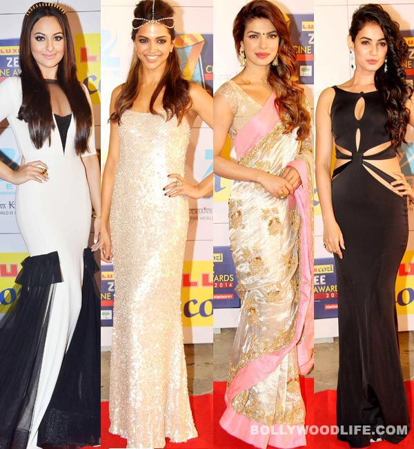 14th Zee Cine Awards: Deepika Padukone shimmers, Priyanka Chopra sizzles and Sonal Chauhan ups the sexy quotient!