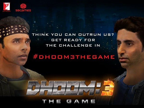 Dhoom: 3 The Game downloaded 10 million times since its release!