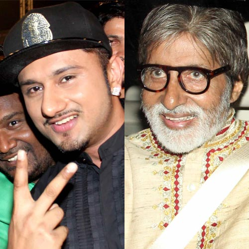 After Shahrukh Khan and Sunny Leone, Honey Singh to team up with Amitabh Bachchan!